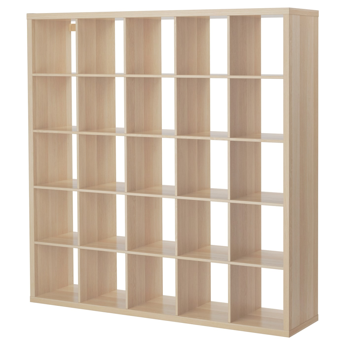 kallax shelving unit white stained oak effect 182x182 cm. Black Bedroom Furniture Sets. Home Design Ideas