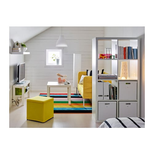 Kallax shelving unit white 77x147 cm ikea - Amenager kast ...