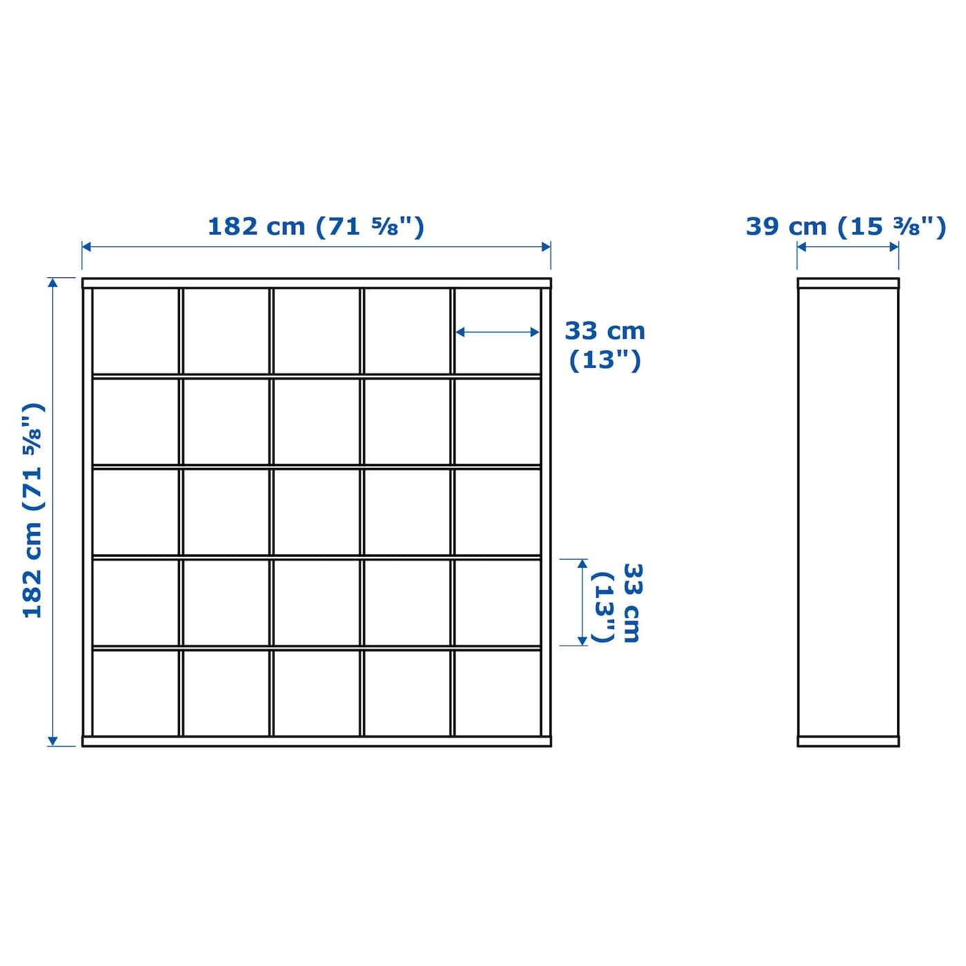 Kallax Shelving Unit White 182 X 182 Cm Ikea