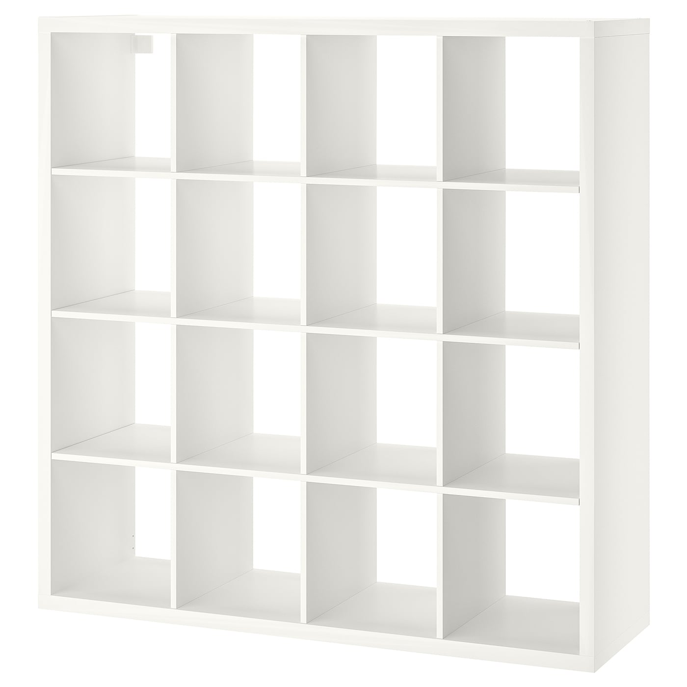 kallax shelving unit white 147 x 147 cm - ikea
