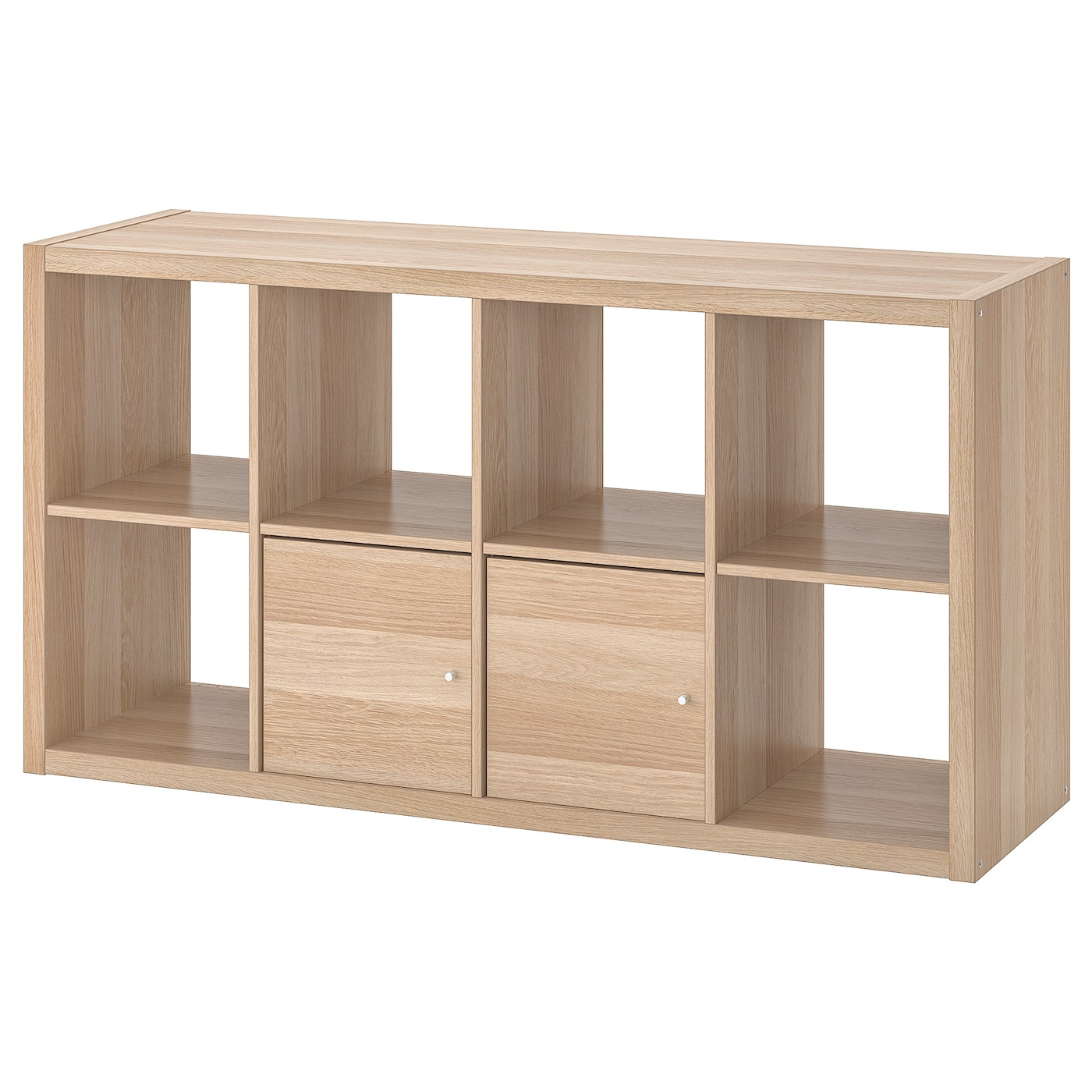 IKEA KALLAX shelving unit with doors