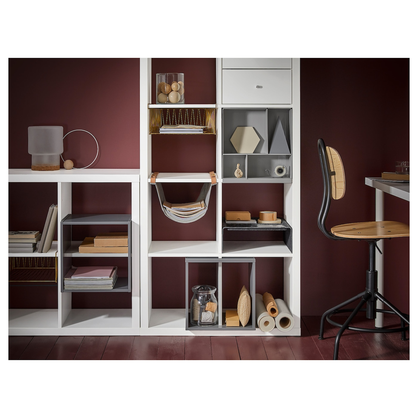 IKEA KALLAX Storage With Compartments Compartments Make It Easy To Organise  Pens, Cutlery, Etc