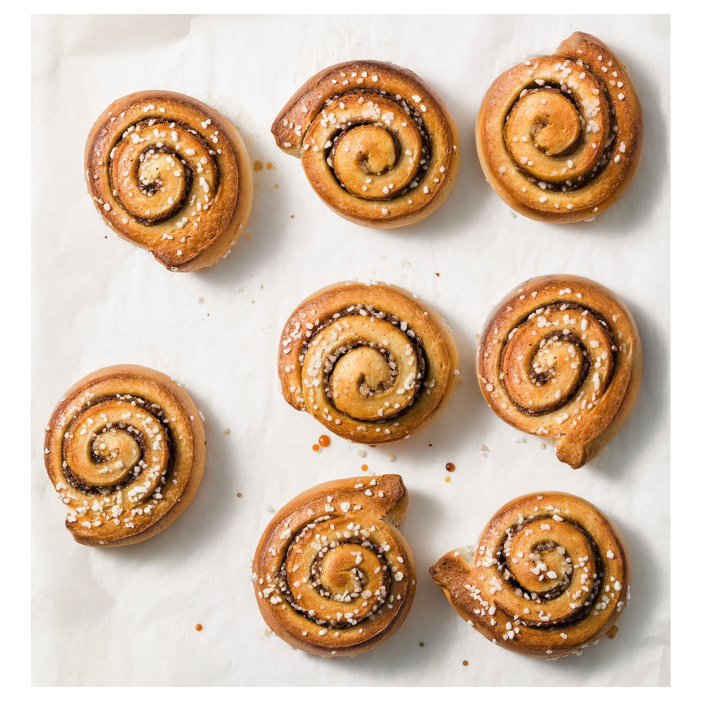 IKEA KANELBULLAR ready to bake cinnamon bun, frozen