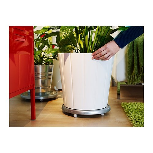 Kardemumma plant pot white assorted patterns 32 cm ikea for Cache pot exterieur