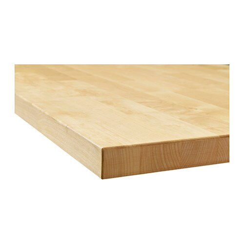 Ikea Kitchen Birch: KARLBY Worktop Birch 246x3.8 Cm