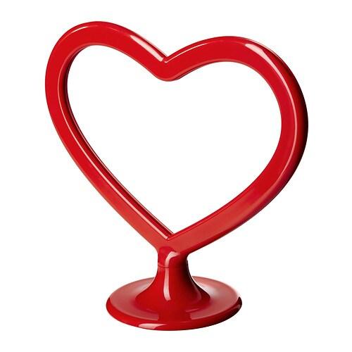 Sale alerts for Ikea KÄRLEKEN Frame for 2 pictures, heart red - Covvet