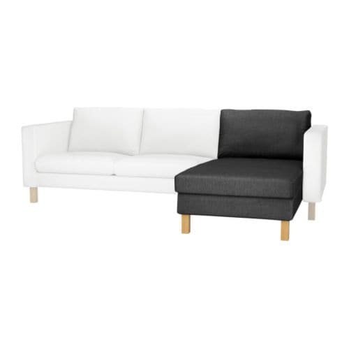 KARLSTAD Chaise longue, add-on unit IKEA