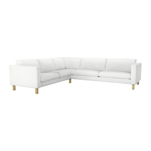 KARLSTAD Corner sofa 2+3/3+2 IKEA A range of coordinated covers makes it easy for you to give your furniture a new look.