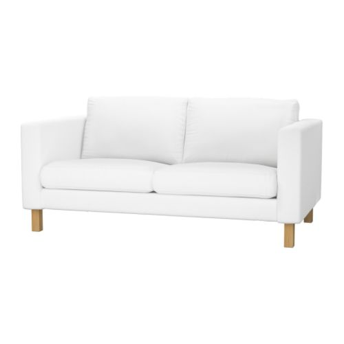 KARLSTAD Two-seat sofa IKEA The cover is easy to keep clean as it is removable and can be machine washed.