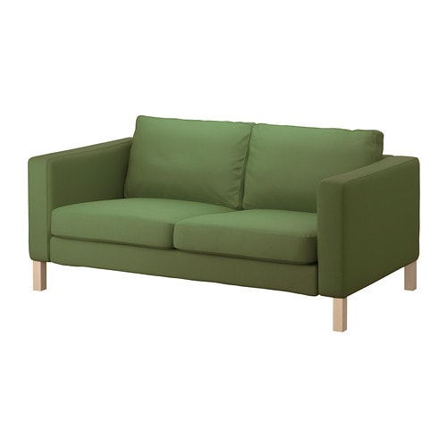 KARLSTAD Two-seat sofa IKEA A range of coordinated covers makes it easy for you to give your furniture a new look.