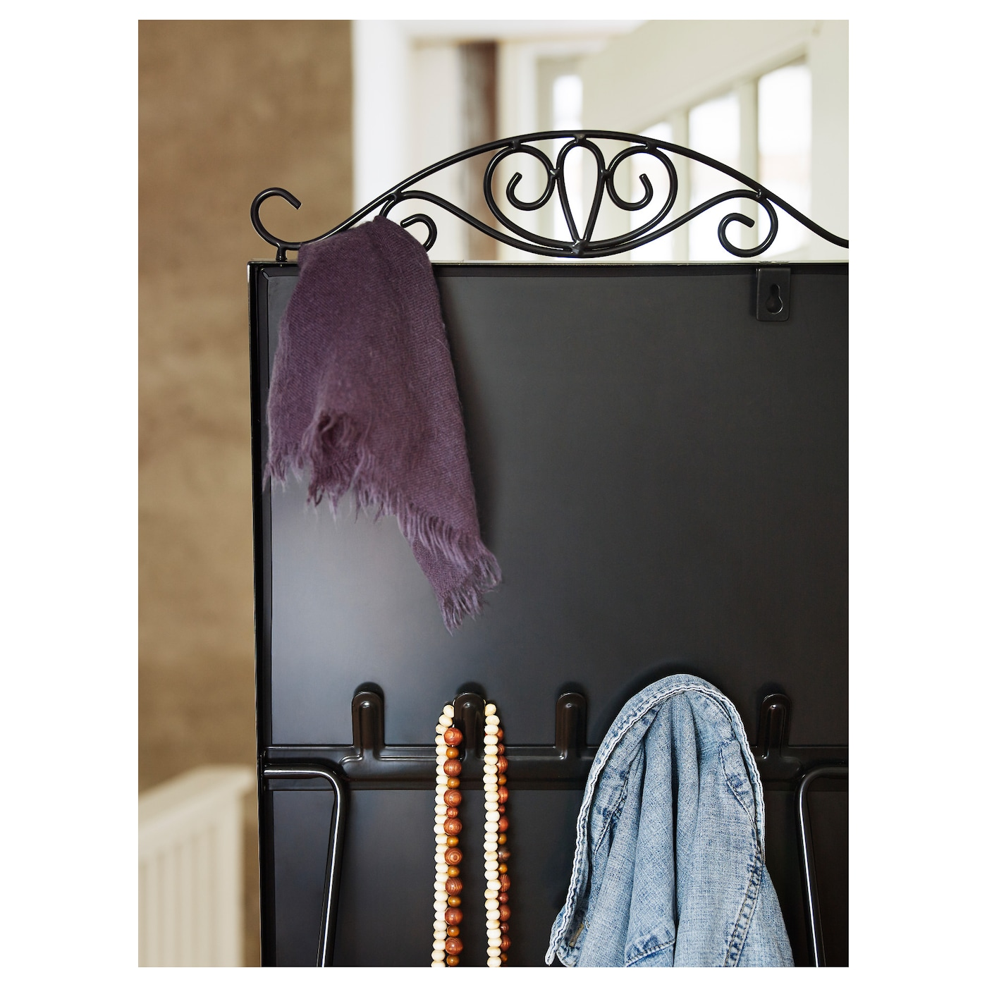 karmsund standing mirror black 40x167 cm ikea. Black Bedroom Furniture Sets. Home Design Ideas