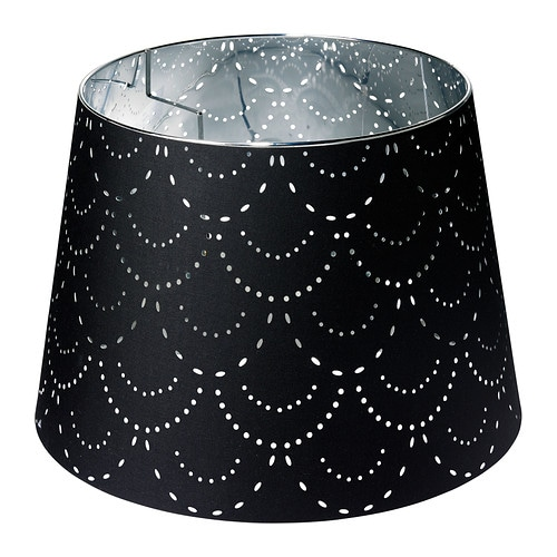 KILSMO Shade IKEA Perforated shade; creates a decorative light pattern.