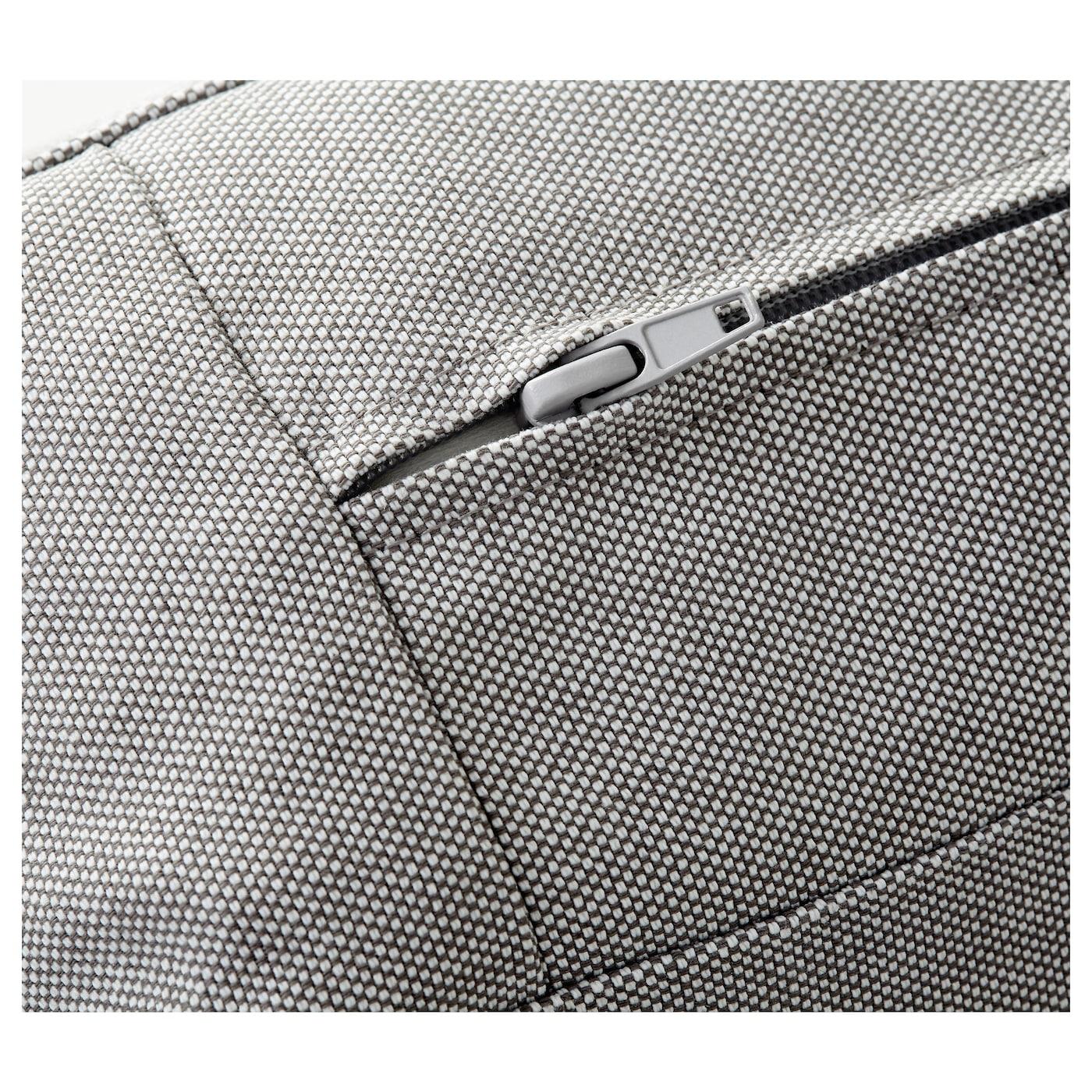 KIVIK 4seat sofa With chaise longueramna light grey IKEA