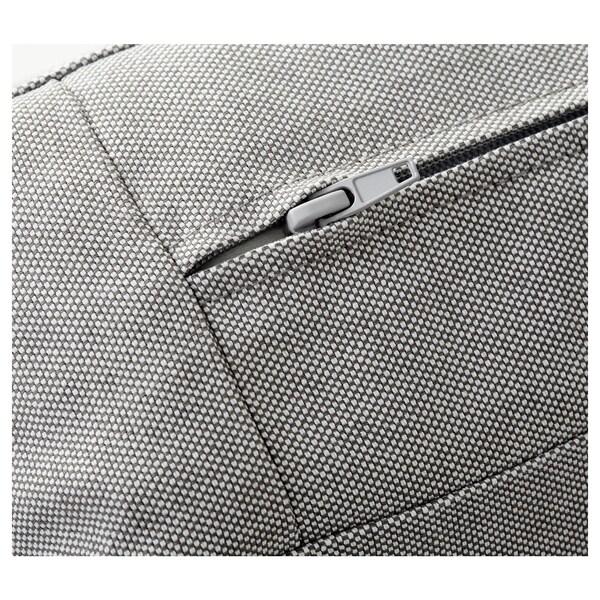 KIVIK 4-seat sofa, with chaise longue/Ramna light grey
