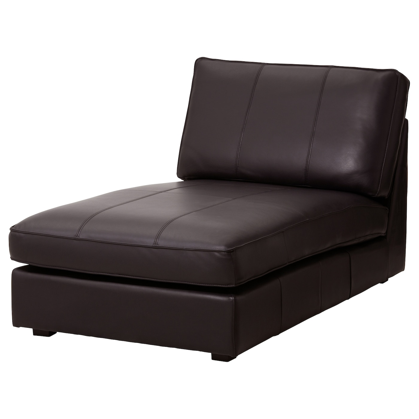 Leather & Coated Fabric Chaise Longues