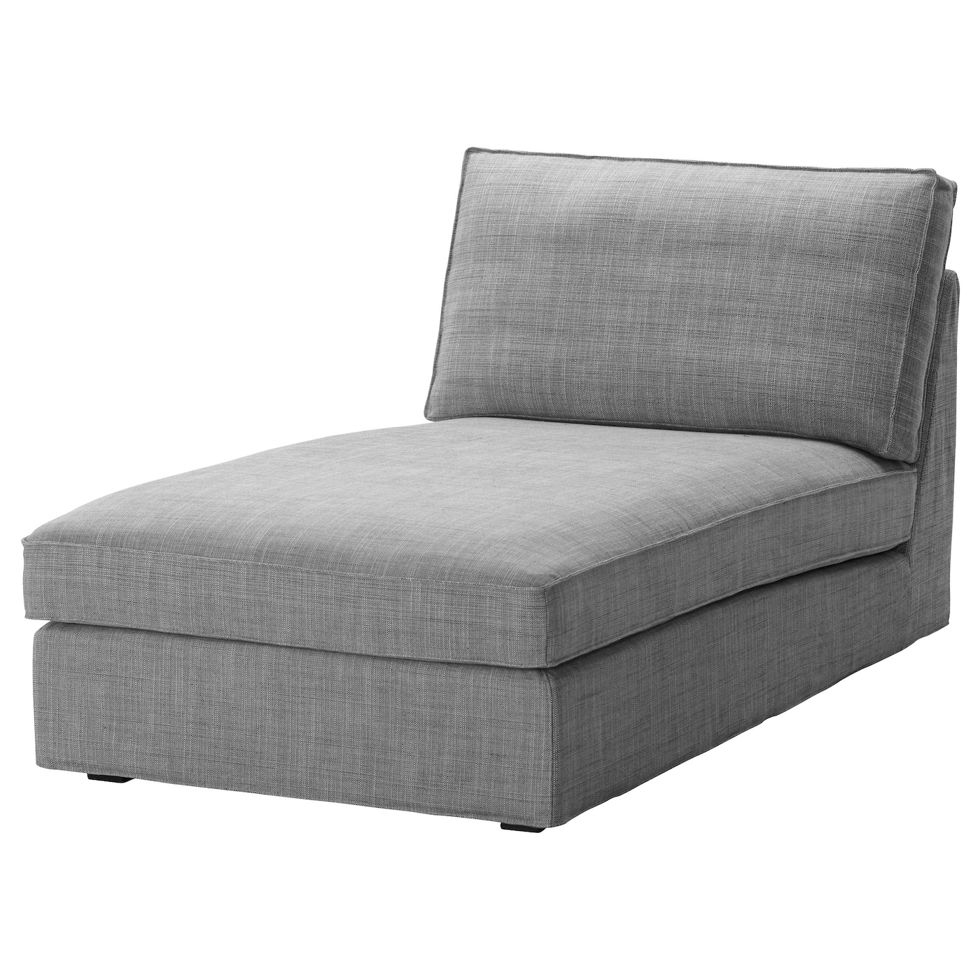Kivik chaise longue isunda grey ikea for Chaise longue en rotin ancienne