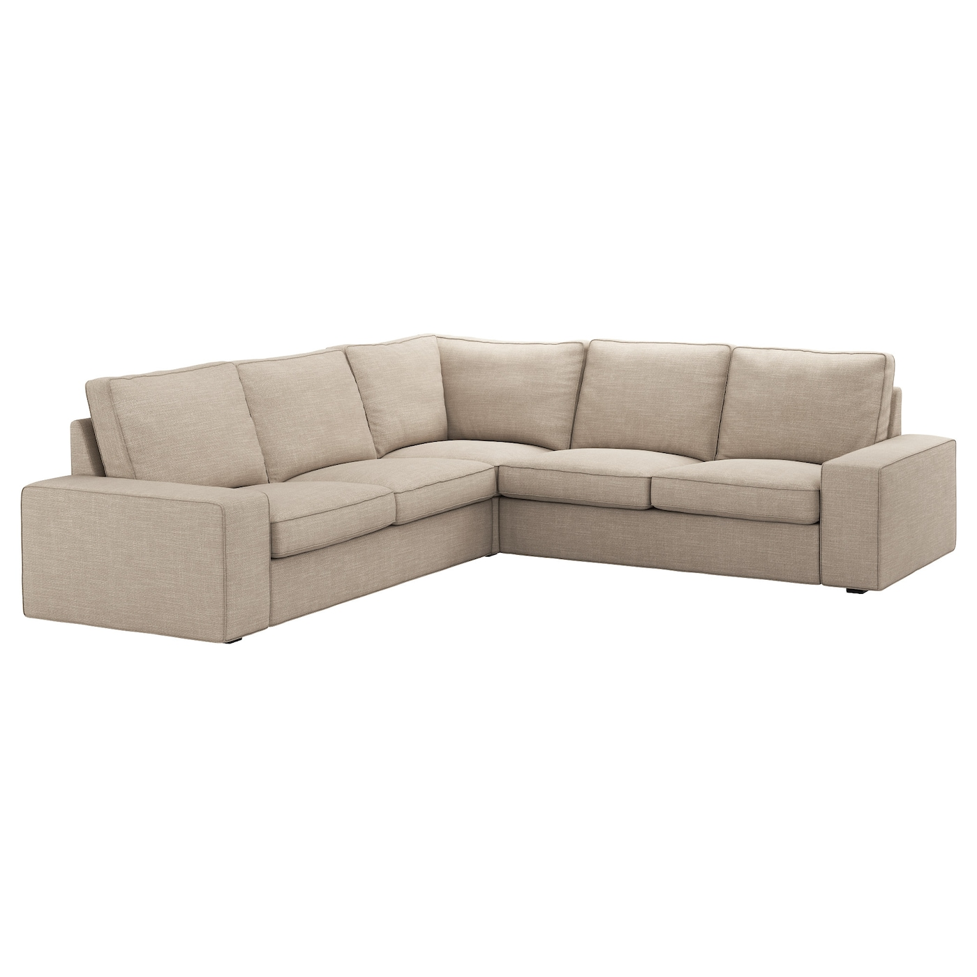 kivik corner sofa 4 seat hillared beige ikea. Black Bedroom Furniture Sets. Home Design Ideas