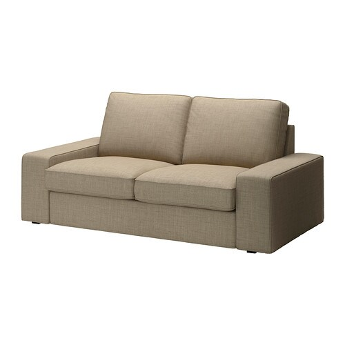 KIVIK Cover two-seat sofa IKEA The cover is easy to keep clean as it is removable and can be dry cleaned.