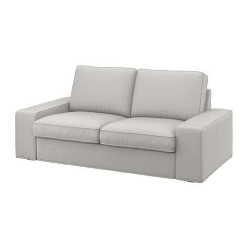 IKEA KIVIK cover two-seat sofa Hardwearing, cotton and polyester cover with texture and a soft feel.