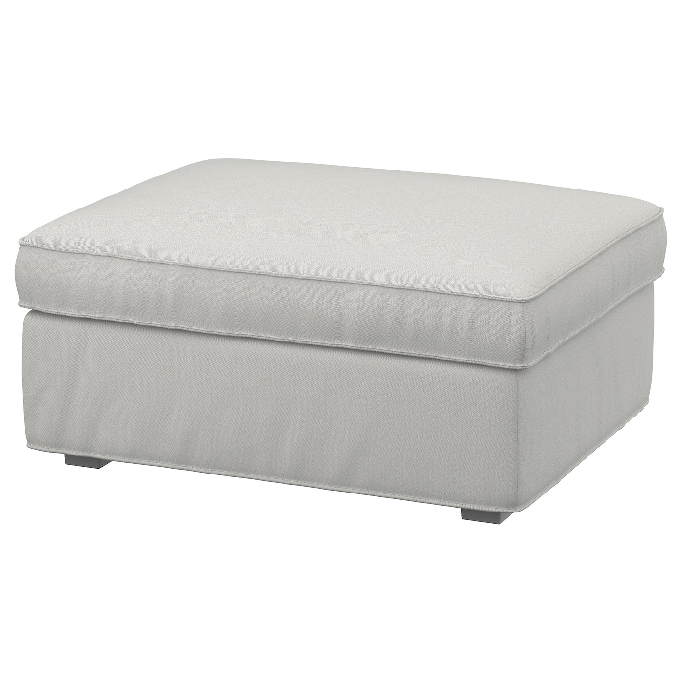 Ikea Kivik Footstool With Storage Practical E Under The Seat
