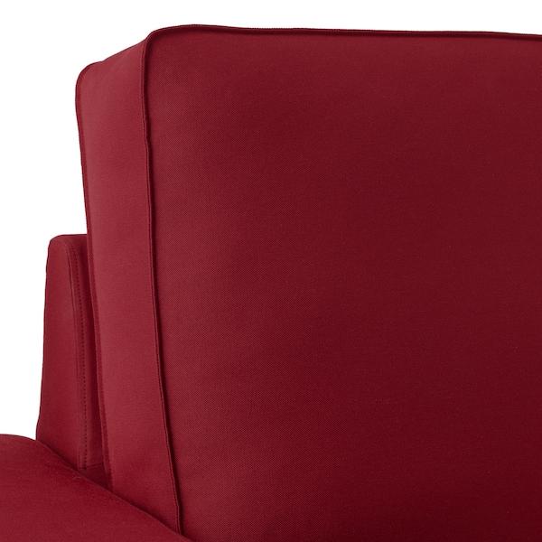 KIVIK 4-seat sofa with chaise longue/Ramna red 318 cm 83 cm 95 cm 163 cm 60 cm 124 cm 45 cm
