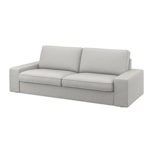 Kivik three seat sofa ramna light grey ikea for Couch gb sofa