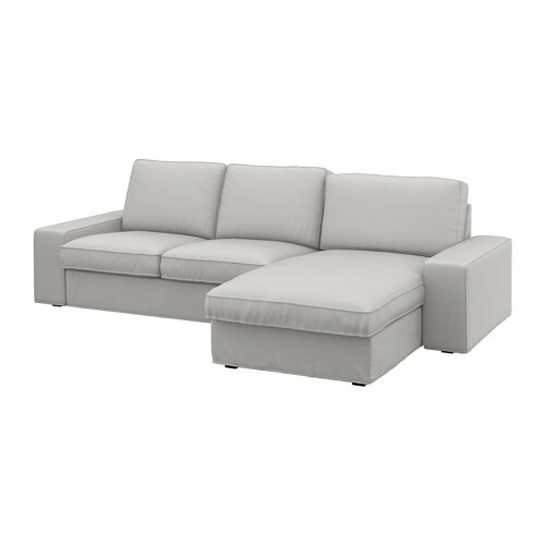 Kivik two seat sofa and chaise longue for Chaise longue 200 cm
