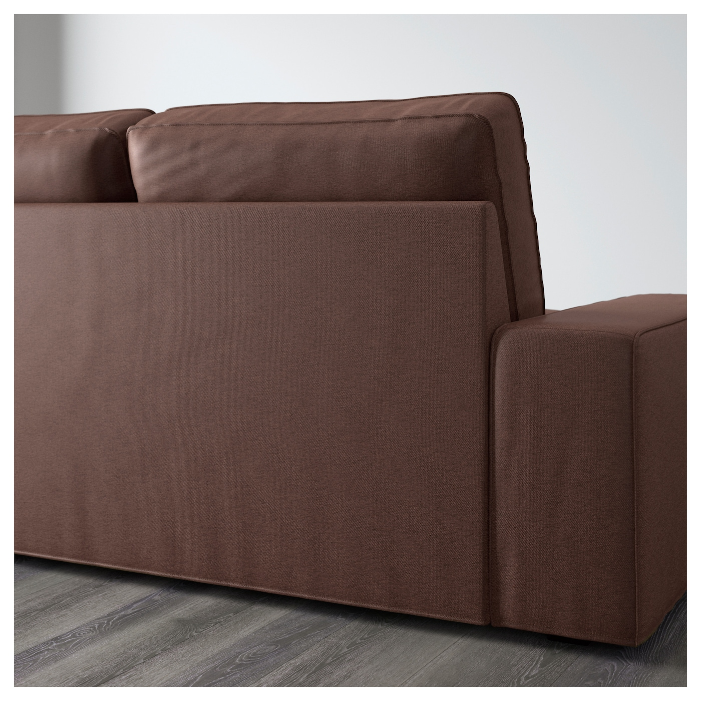 kivik two seat sofa borred dark brown ikea. Black Bedroom Furniture Sets. Home Design Ideas
