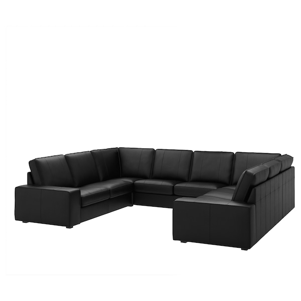 Awe Inspiring U Shaped Sofa 6 Seat Kivik 8 Seater Grann Bomstad Black Ocoug Best Dining Table And Chair Ideas Images Ocougorg