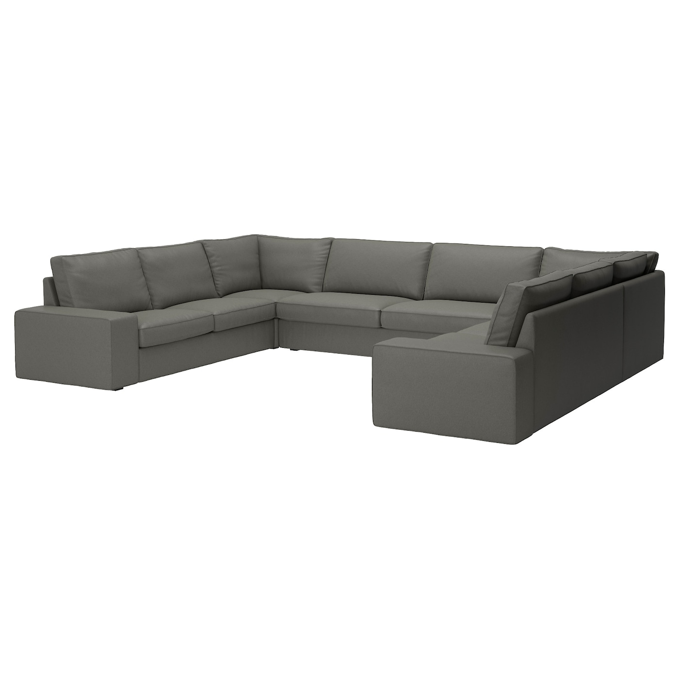 IKEA KIVIK u-shaped sofa, 7-seat 10 year guarantee. Read about the terms in the guarantee brochure.