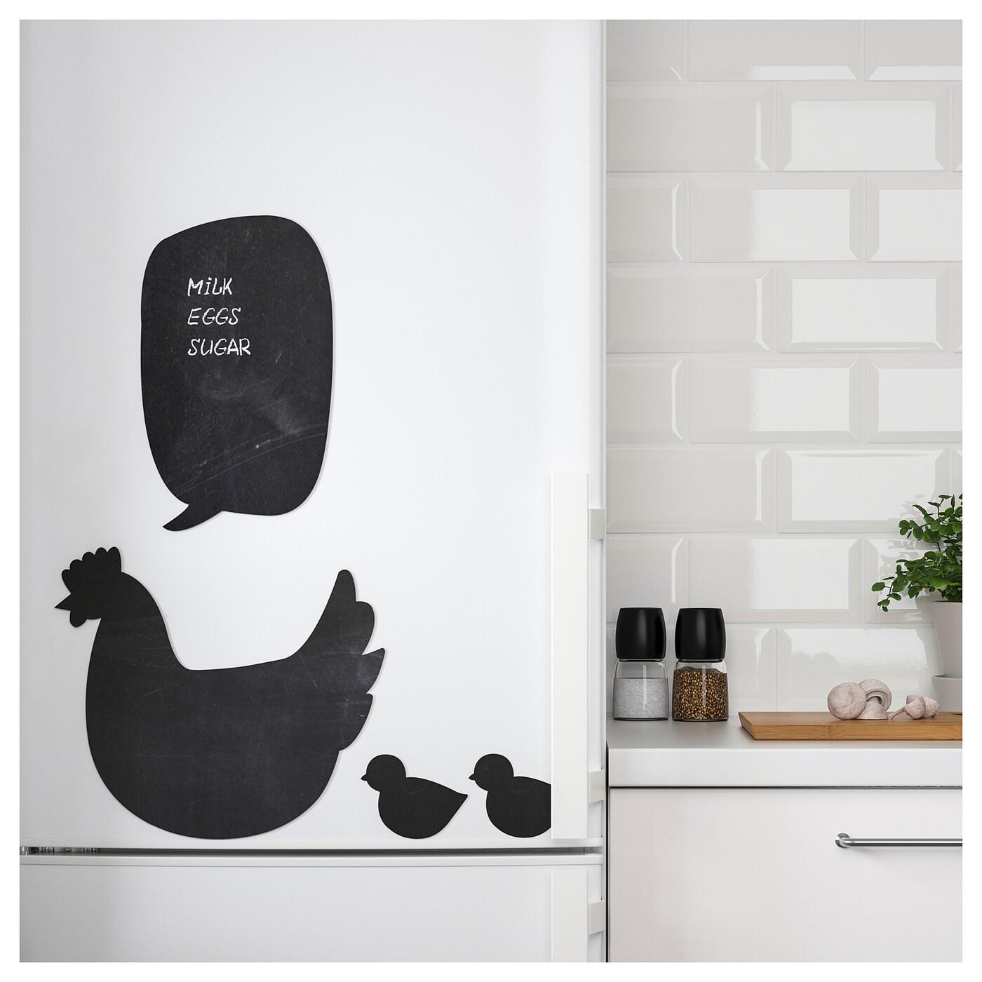 Kl tta decoration stickers blackboard labels ikea - Miroir stickers ikea ...