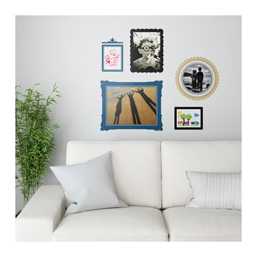 kl 196 tta decoration stickers wall collage frames ikea
