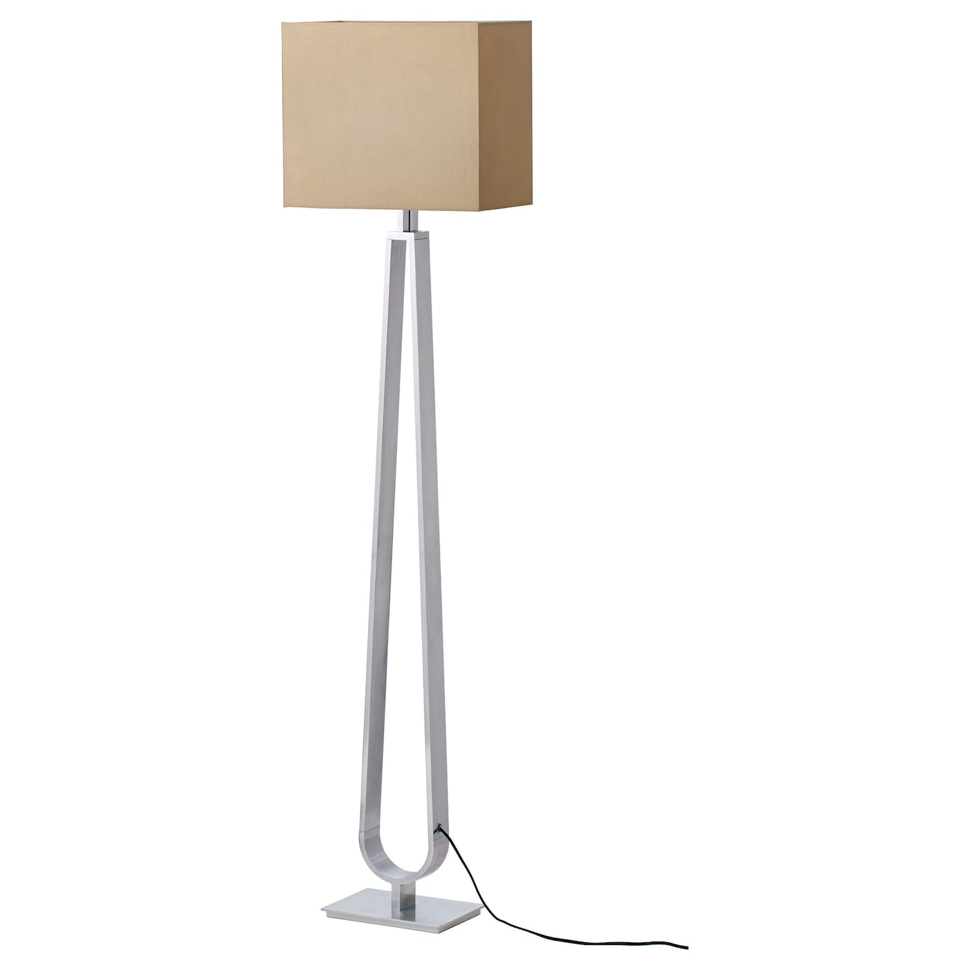 KLABB Floor lamp Light brown - IKEA