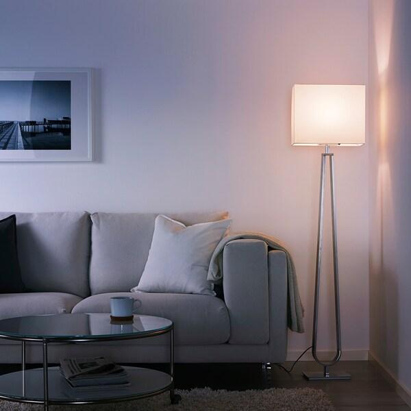 KLABB Floor lamp, off-white