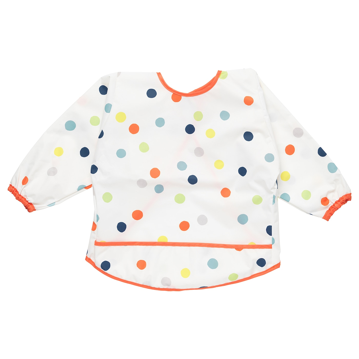 IKEA KLADDIG bib Just as practical for meals as when it's time to play, paint, do crafts or bake.