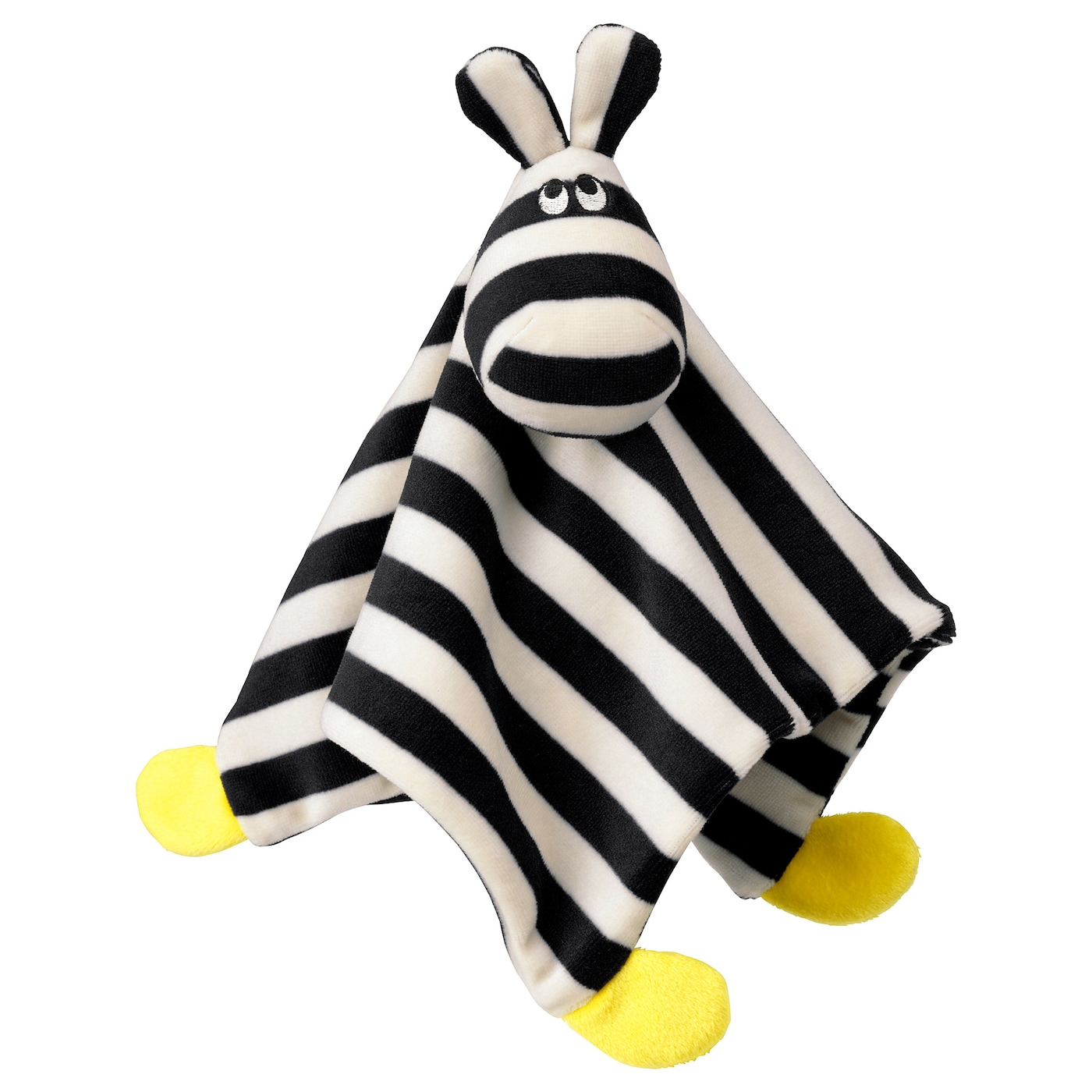 IKEA KLAPPA comfort blanket with soft toy Sharp contrasts that are easy for a baby to see.