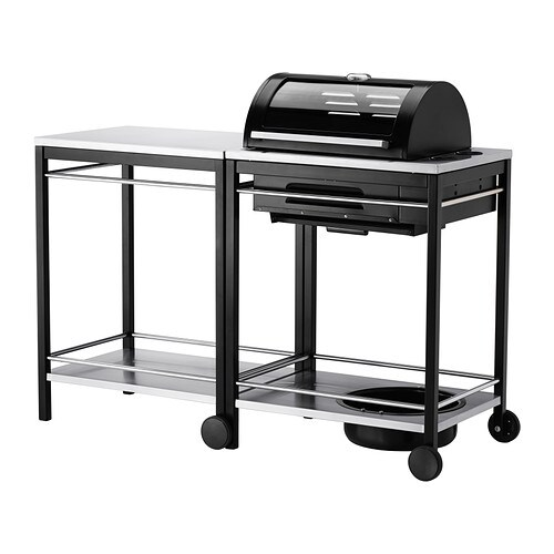 KLASEN Gas barbecue with trolley IKEA