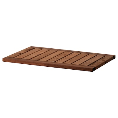 KLASEN Top shelf, brown stained, 70x50 cm