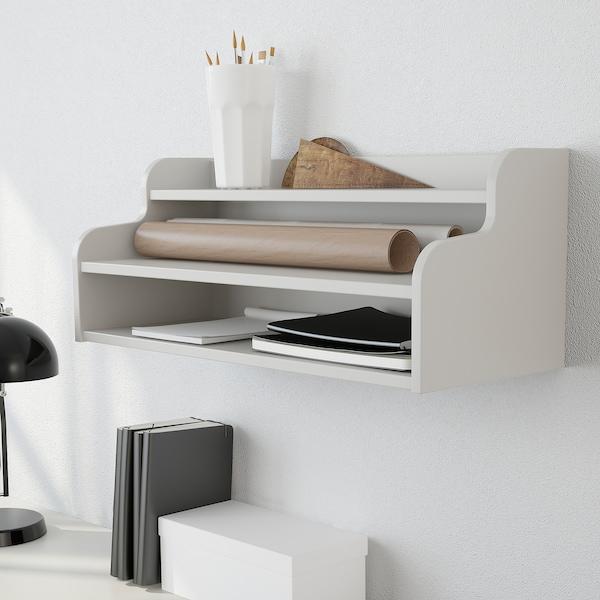 KLIMPEN add-on unit light grey 58 cm 23 cm 23 cm