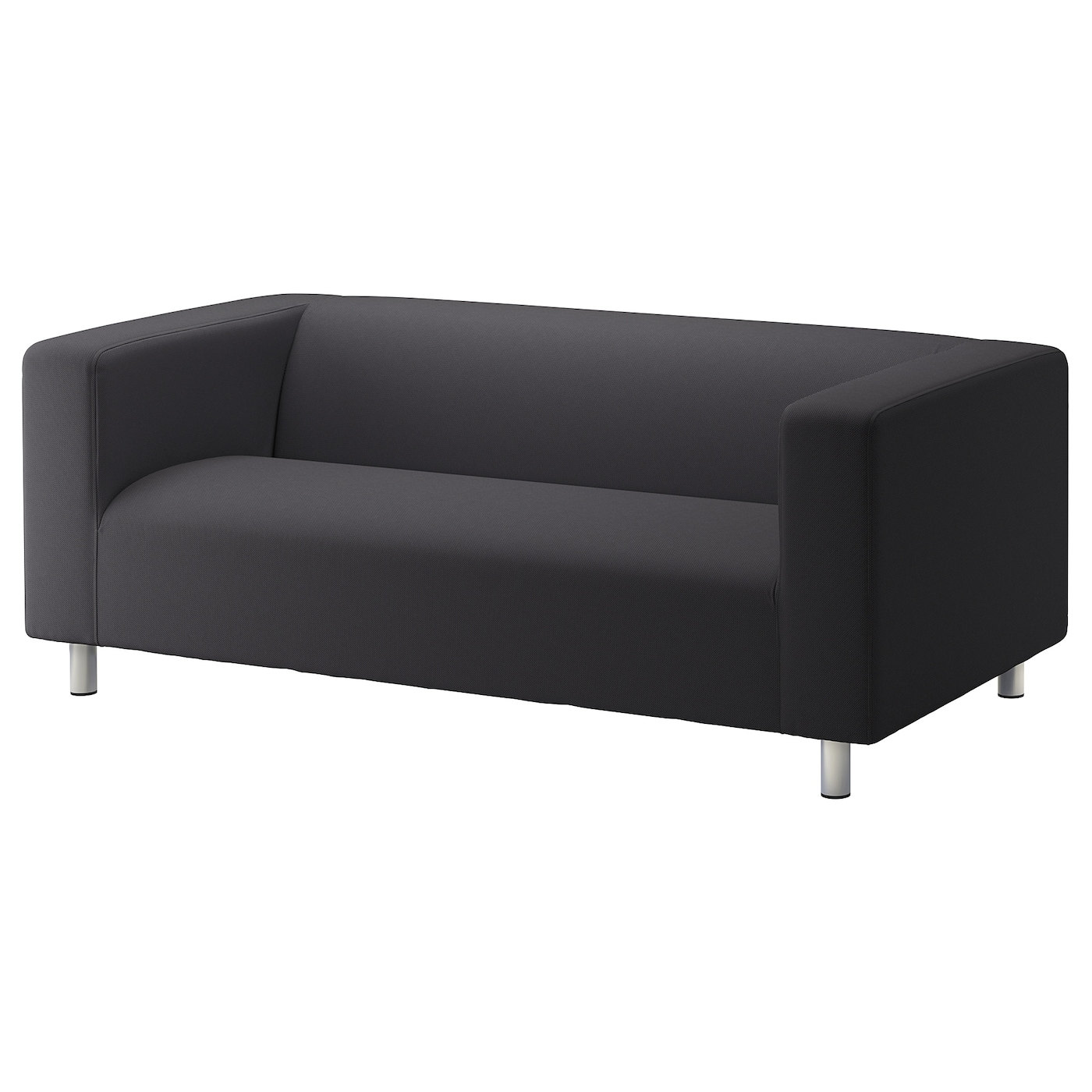 IKEA KLIPPAN 2-seat sofa The cover is easy to keep clean since it is removable and machine washable.