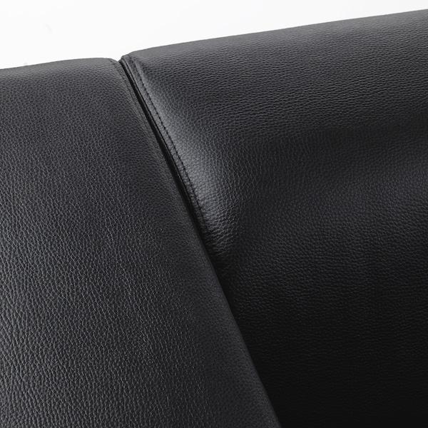 Klippan Bomstad Black 2 Seat Sofa Ikea