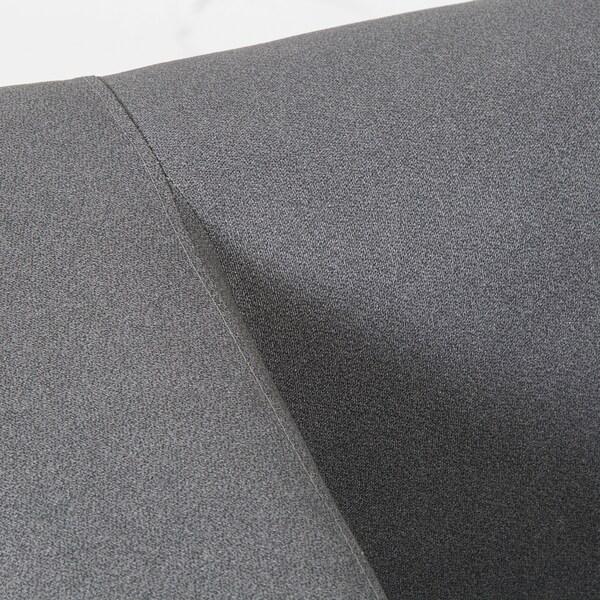 KLIPPAN Compact 2-seat sofa, Flackarp grey