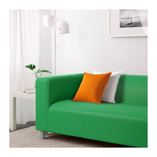 Klippan two seat sofa flackarp green ikea - Klippan sofa ikea ...