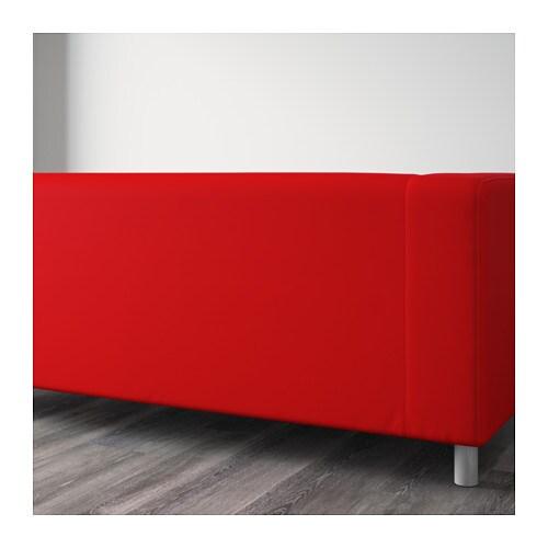 KLIPPAN Twoseat sofa Flackarp redorange  IKEA -> Ikea Wandregal Orange