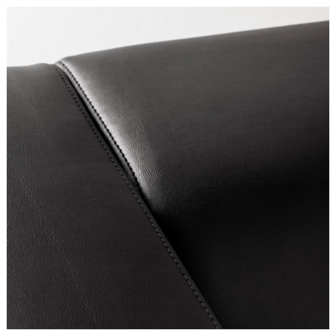KLIPPAN Two seat sofa Kimstad black IKEA