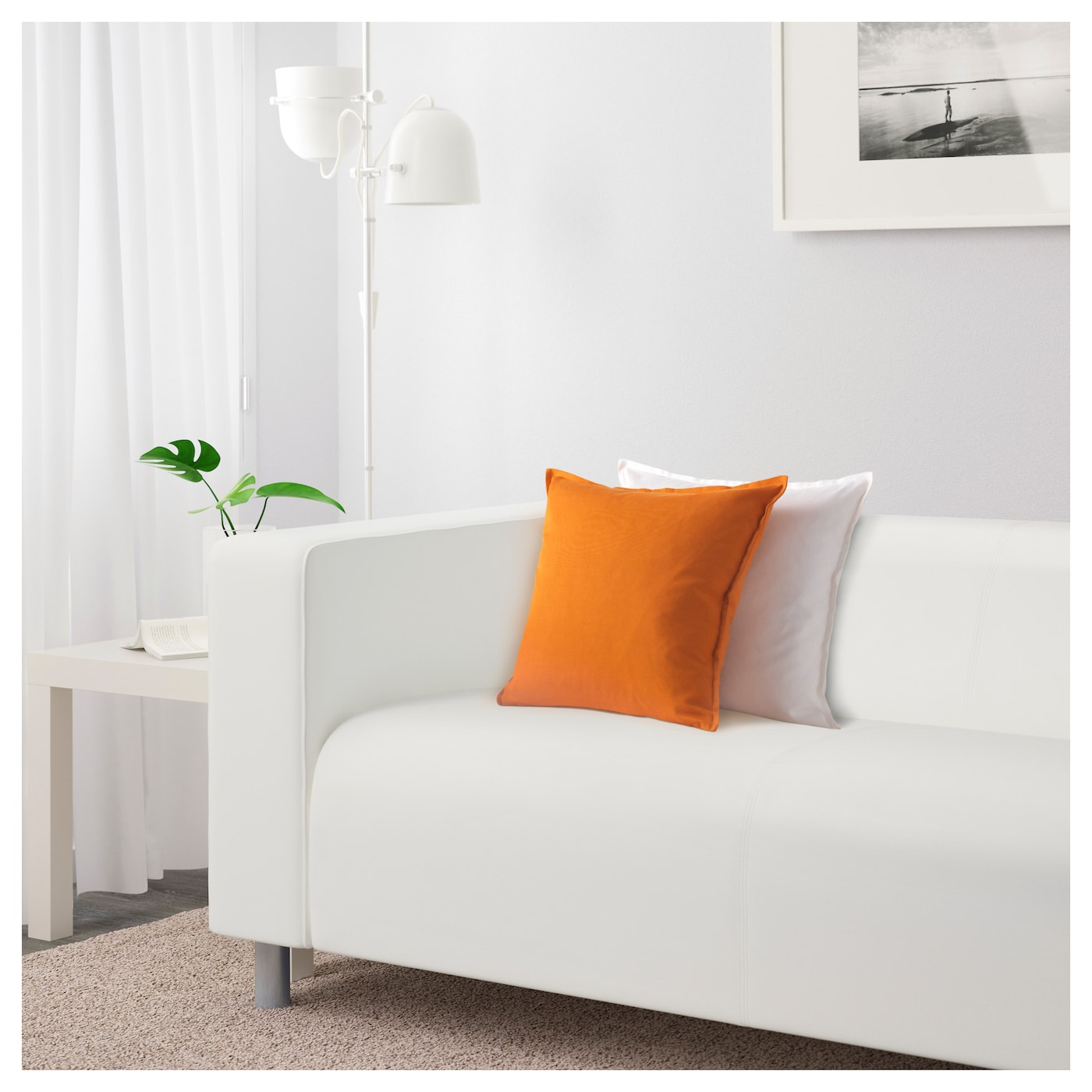 IKEA KLIPPAN two-seat sofa 10 year guarantee. Read about the terms in the guarantee brochure.