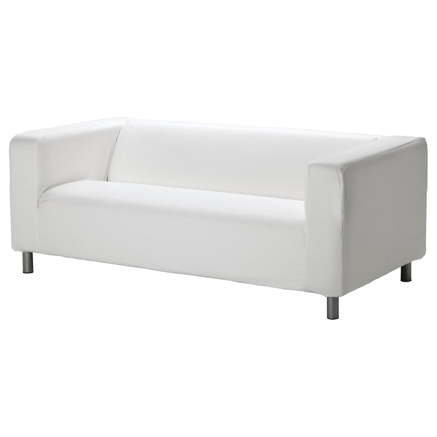 klippan two seat sofa ransta white ikea