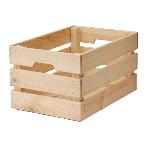 Ikea Knagglig Box You Can Save E By Stacking 2 Bo On Top Of One Another