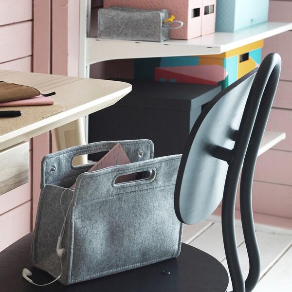 KNALLBÅGE felt, Bag organiser insert IKEA