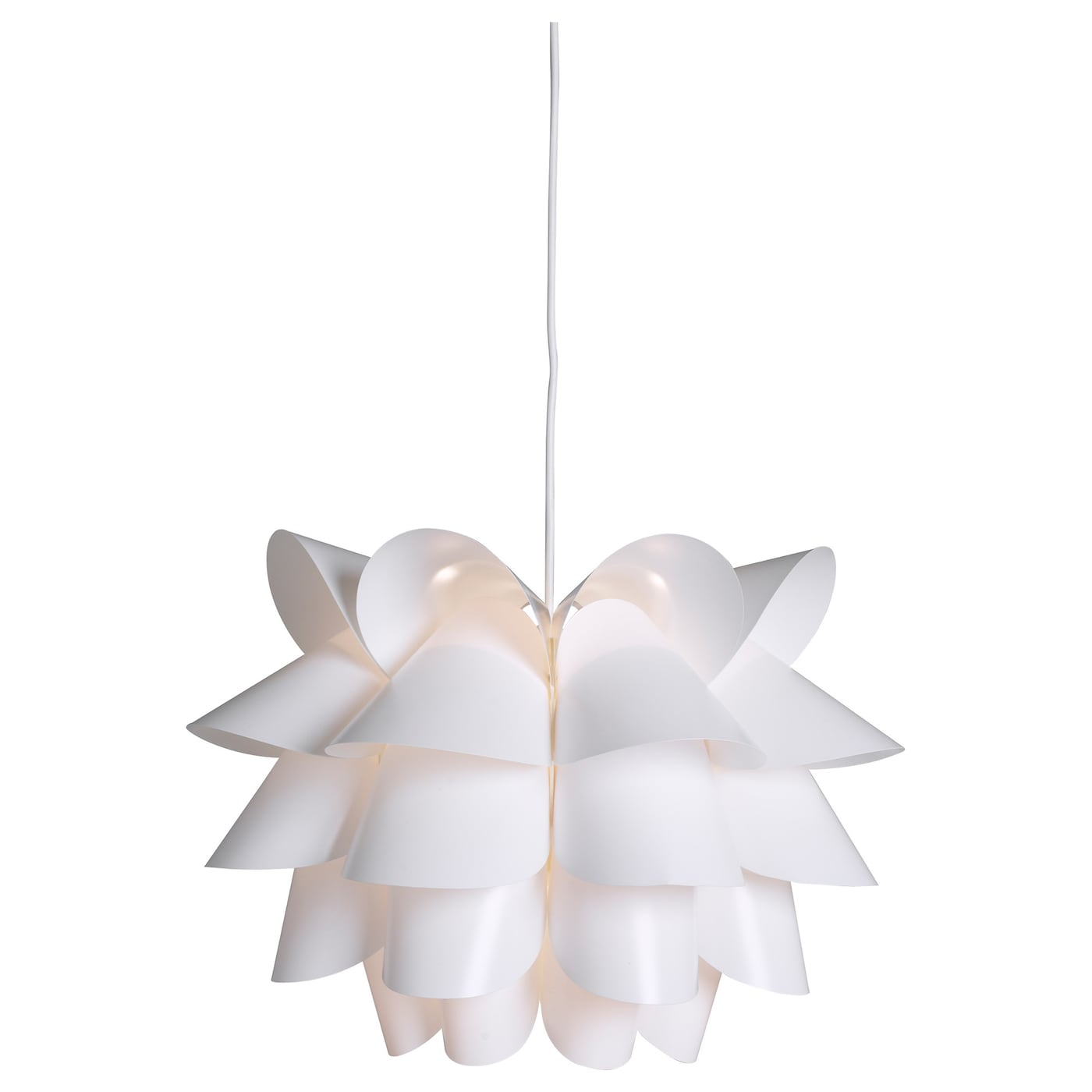 IKEA KNAPPA Pendant Lamp Gives A Soft Mood Light